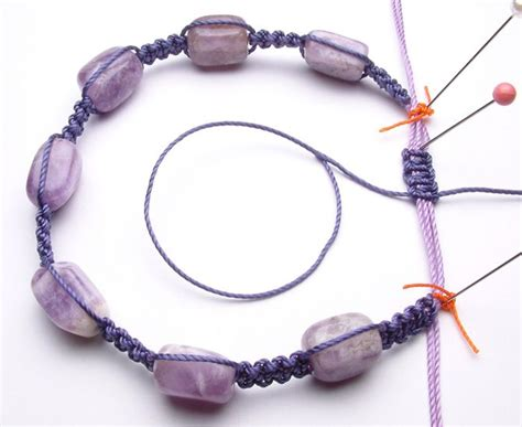 Macrame Knot Tutorial - easy macrame bracelet tutorial for newbies beading