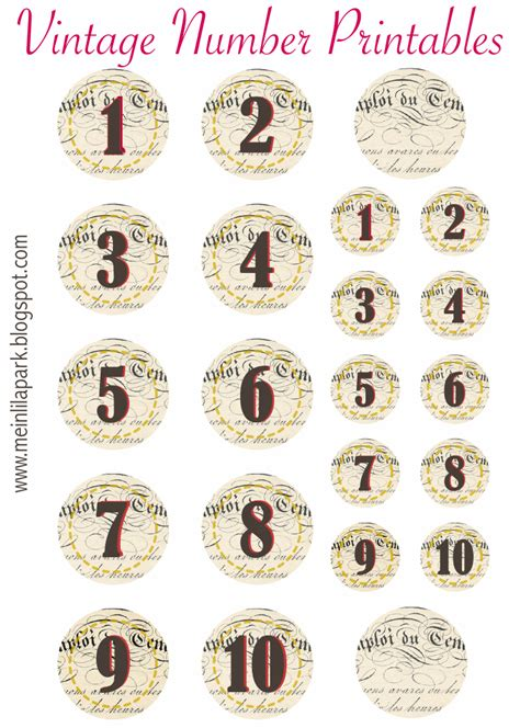 printable number stickers free printable vintage number stickers ausdruckbare