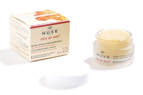 Nuxe Lip Balm thenotice nuxe r 234 ve de miel ultra nourishing lip balm