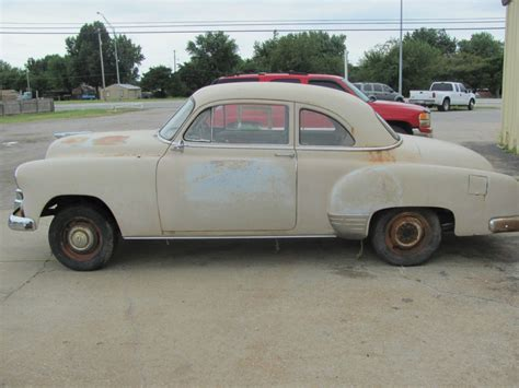 car for sale chevrolet 1952 chevrolet coupe project car for sale