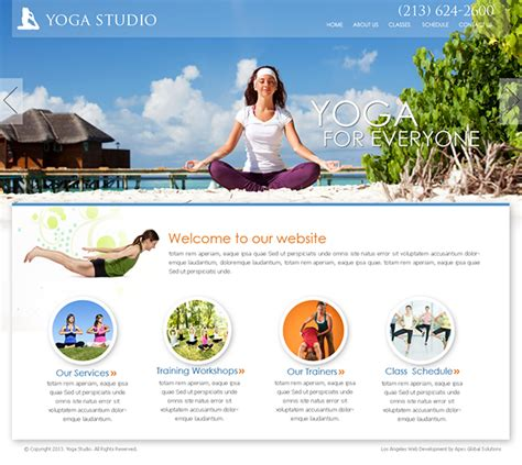 women of web design on earth web site digital designer yoga studio website design on behance