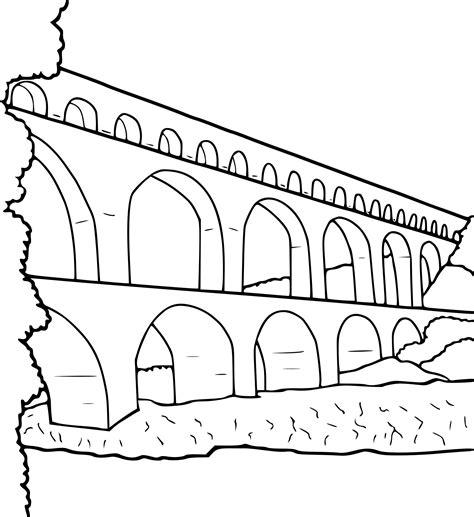 Coloriage Pont 224 Imprimer