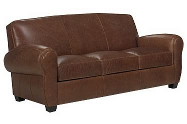 Loveseat Sleeper Leather by 3 Cushion Leather Sleeper Sofa With Rolled Arms Club