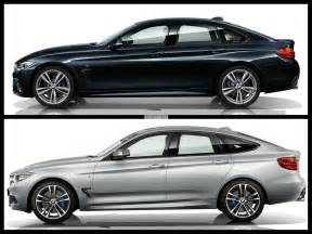 bmw 4 series gran coupe vs bmw 3 series gt photo comparison