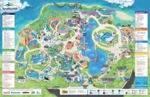 sea world florida map park map seaworld orlando