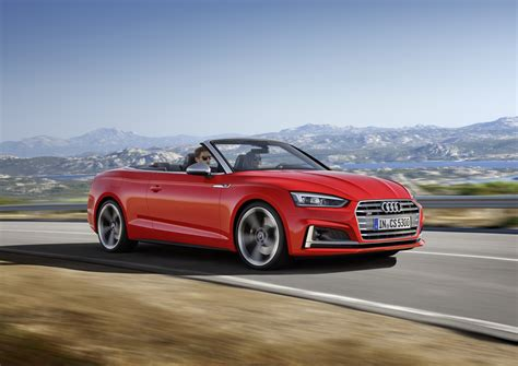 audi a5 soft top 2017 audi a5 and s5 cabriolet the soft top revealed
