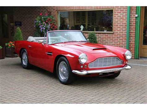 vintage aston martin convertible aston martin vantage for sale on classiccars com