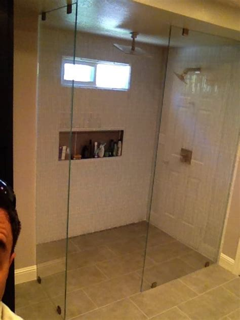 Floor To Ceiling Screens by Floor To Ceiling Shower Screens 3 8 Quot Clear Glass