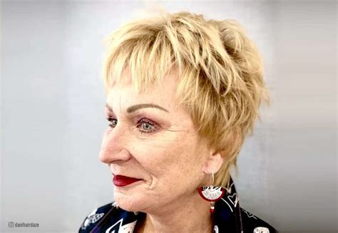 shag haircuts  older women