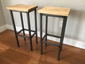 Handcrafted Bar Stools - handmade wooden bar stools quattro stoolen by