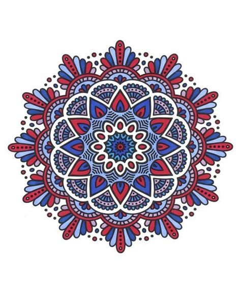 Magical Mandalas For Who Color Live Your Life In Color