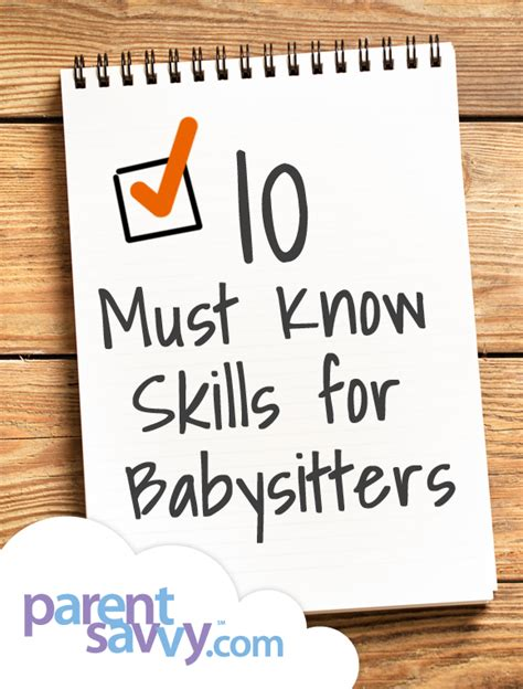 ten must skills for parentsavvy