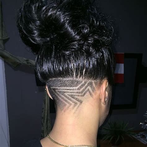 star pattern undercut 60 chic edgy undercut design ideas hair motive hair motive