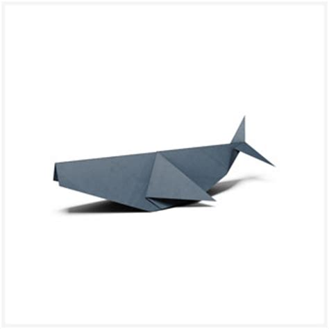 Origami Whales - origami folding from wwf world
