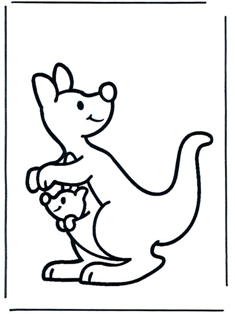 kangaroo coloring book pages kangaroo coloring pages coloringpages1001 com