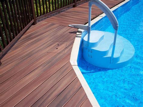 building deck   ground pool building