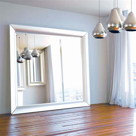oversized silver floor mirror contemporary floor