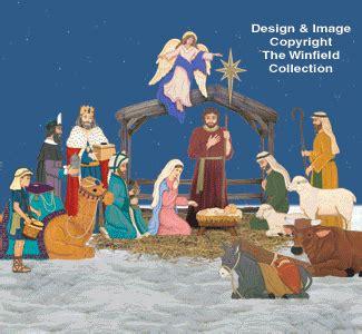 wood pattern gif nativities angels complete life size nativity pattern set