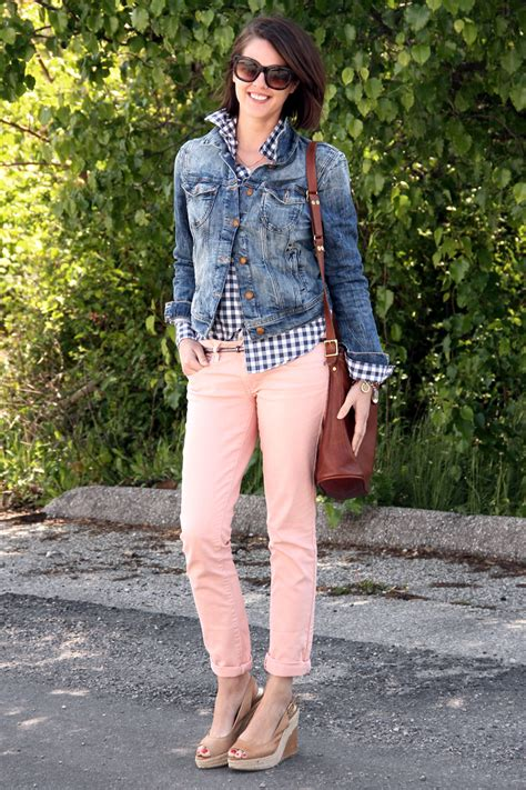what to wear with light pink pants what i wore running around on what i wore