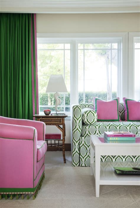 pink and green living room pink and green room contemporary living room anne