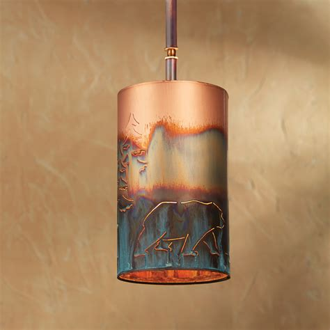copper light pendant copper pendant light
