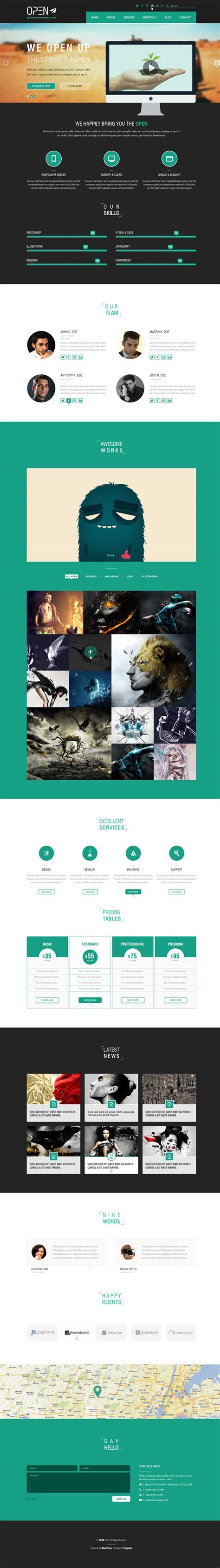 Modern Responsive Html5 Css3 Website Templates Design Graphic Design Junction Modern Responsive Website Templates