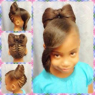 hairstyles for childbirth beautiful bow hairstyle for kids black hair information