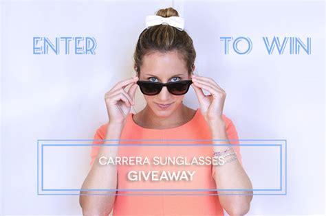 Sunglasses Giveaway - carrera sunglasses giveaway