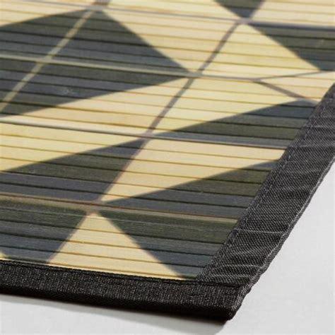 bamboo rugs world market 4 x6 black tile bamboo area rug world market