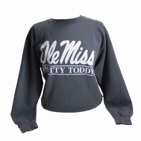 Miss Comfort by Comfort Colors Ole Miss Sweatshirts Cus Book Mart