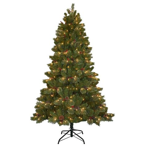 10 ft dunhill fir artificial christmas tree with 1200