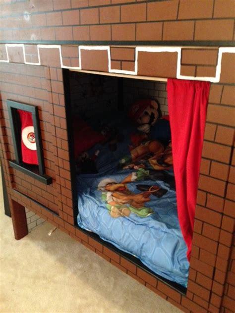 mario bed ana white mario bunk bed castle diy projects