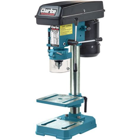 bench drilling clarke cdp5eb 5 speed bench mounted pillar drill blue