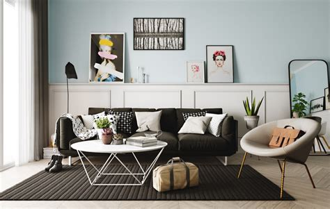 nordic living room interior design bring out a cheerful scandinavian interior designs with pastel and lightly
