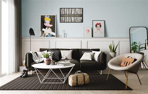 scandinavian interior designs  pastel  lightly