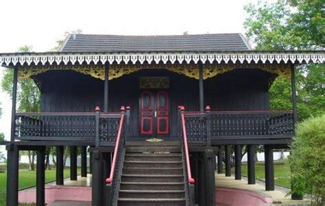 rumah adat jambi sejarah jenis arsitektur  ornamen