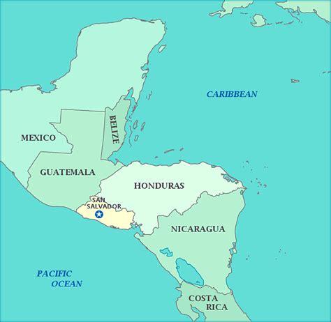 america map el salvador el salvador 22 000 cases of chikungunya infection