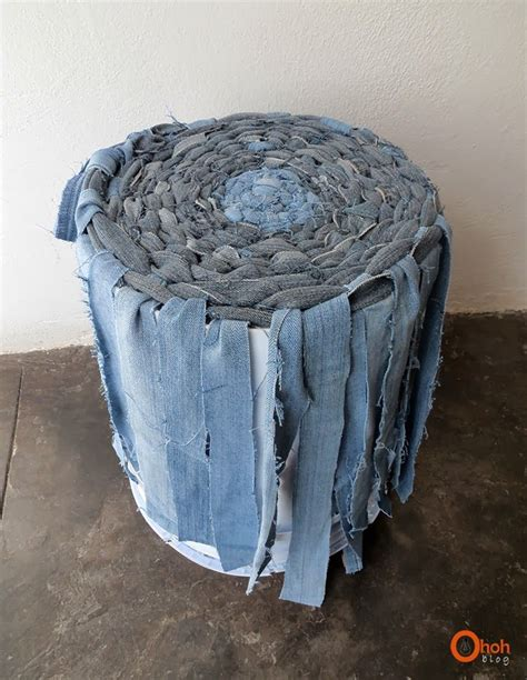 denim craft projects diy recycled denim basket diy recycle tutorials and craft