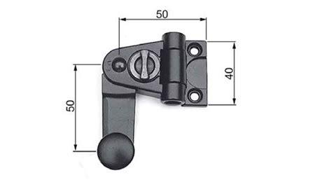 spagnolette per persiane maniglia per spagnoletta ridotta agb h0090105
