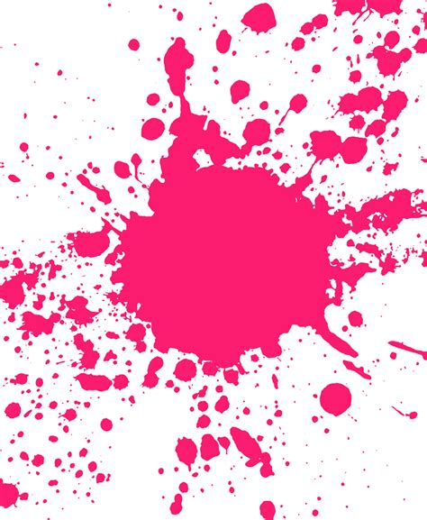 pink paint pink paint splatter clip art