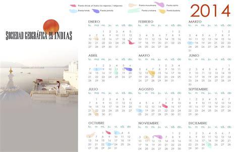 Calendario De La India Calendario De Festividades 2014 En La India