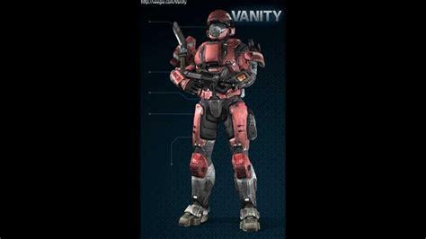 Vanity Armor Halo Reach Cool Spartan Armor Youtube