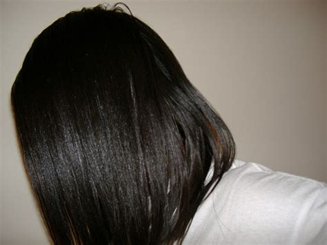 growing relaxed hair