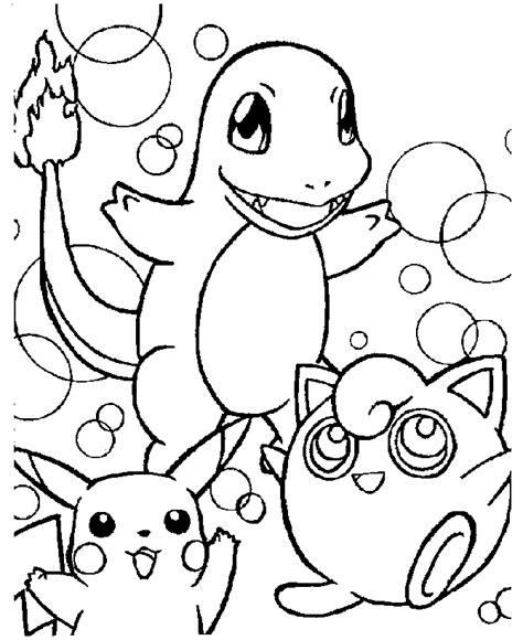 Pokemon Coloring Book Pages Page 2 Colouring Pages Free