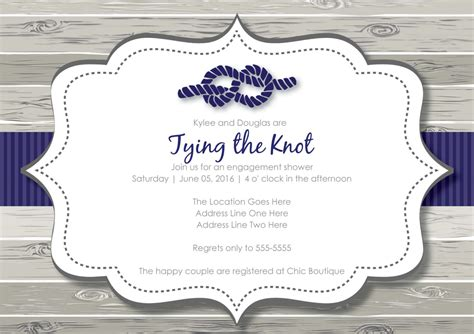 printable nautical bridal shower invitations seaside themed wedding invitations sunshinebizsolutions com