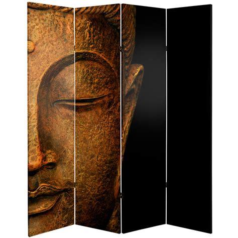 buddha room divider screen 6 ft buddha and ganesh canvas room divider roomdividers