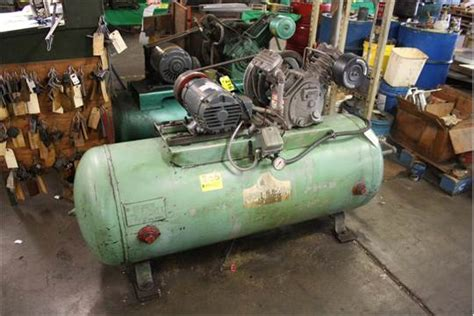 westinghouse 5 hp horizontal tank mounted air compressor
