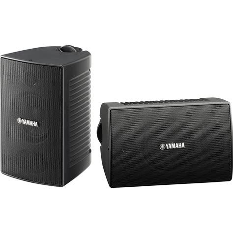 Speaker Outdoor yamaha ns aw194 outdoor speakers pair black ns aw194bl b h