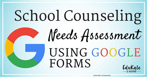 school counseling needs assessment creating a school counseling needs assessment using