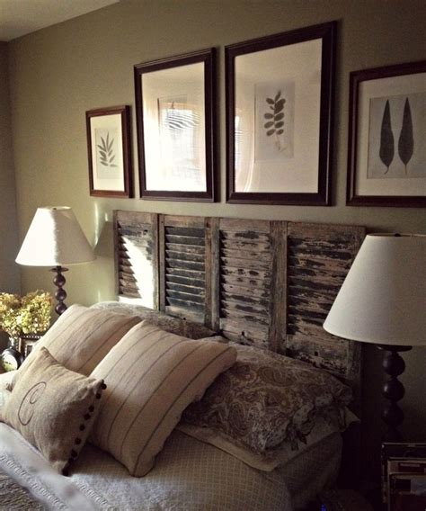 headboard made from shutters 25 best ideas about old shutters on pinterest old